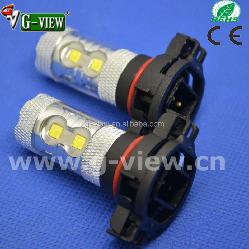 China auto led factory psx24w auto led 50w Epistar 10-30V H16 5202 led bulb
