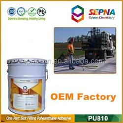 filling road gap liquid polyurethane construction joints sealant polyurethane foam jet fuel resistant