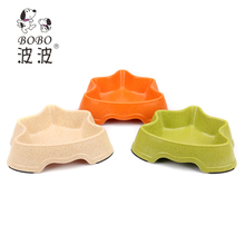 Professional Chinese Supplier Bamboo Anti Skid Dog Bowls.