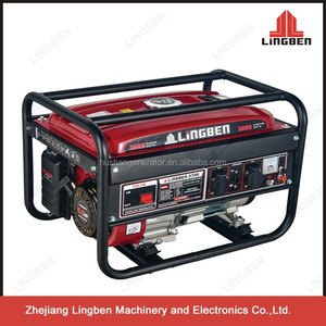 ZheJiang LingBen 6.5Hp Mini Portable Power Electric Gasoline Generator Astra Korea Set TaiZhgou Factory