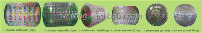 Good quality PVC TPU cheap water roller ball price