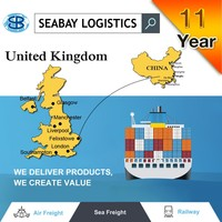 Container sea freight shipping from foshan to UK