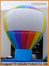 large sized outdoor quality inflatable advertising ground balloon