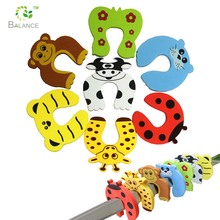 BTD04 baby child safety cute animal shape EVA door stoppers