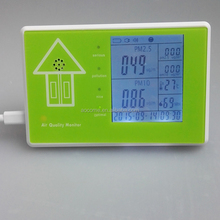 Digital portable air pollution meter indoor dust PM2.5 gas quality detector