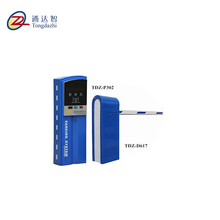 RFID and bluetooth automatical boom barrier car parking system