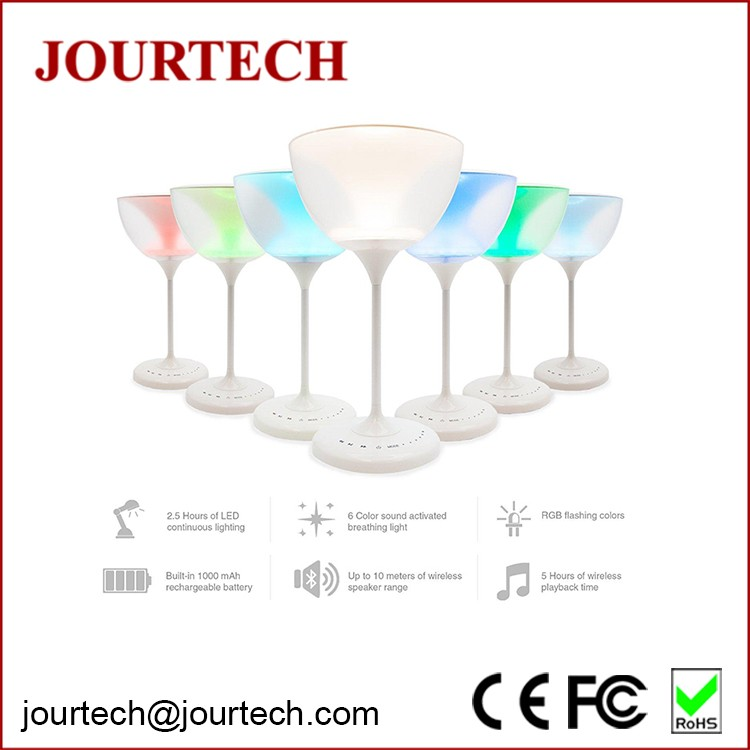 Shinning led colour temperature changing portable lamp with bluetooth speaker