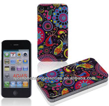 UK Market Cellphone Accessory For Iphone 4G 4S Glossy Crystal IMD Cases