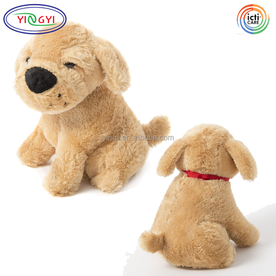D814 Musical Puppy Dog Animal Plush Toy Electronic Best Made Toys Plush Dog Stuffed Animals with Sound