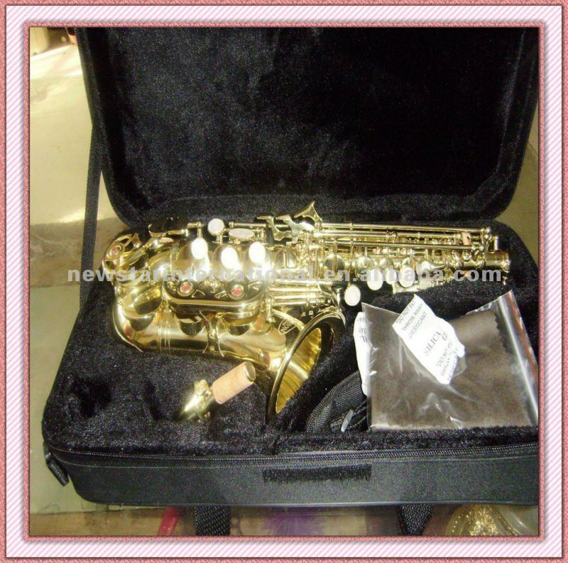 musical instruments Curved Soprano Saxophone