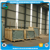Clear Float Building Glass In Construction