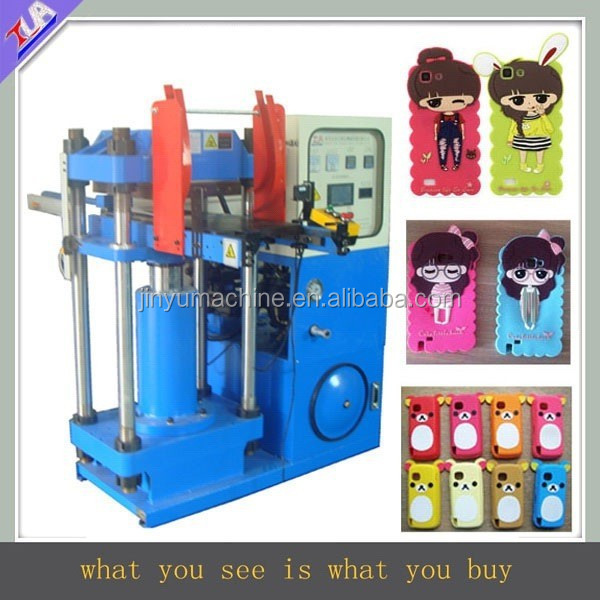 50 ton rational design automatic silicone rubber phone cover shaping /making machines for sale