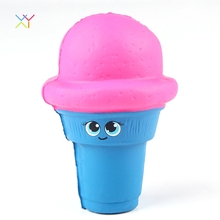 Super soft ice cream squishy ibloom make squishy custom vinyl toys
