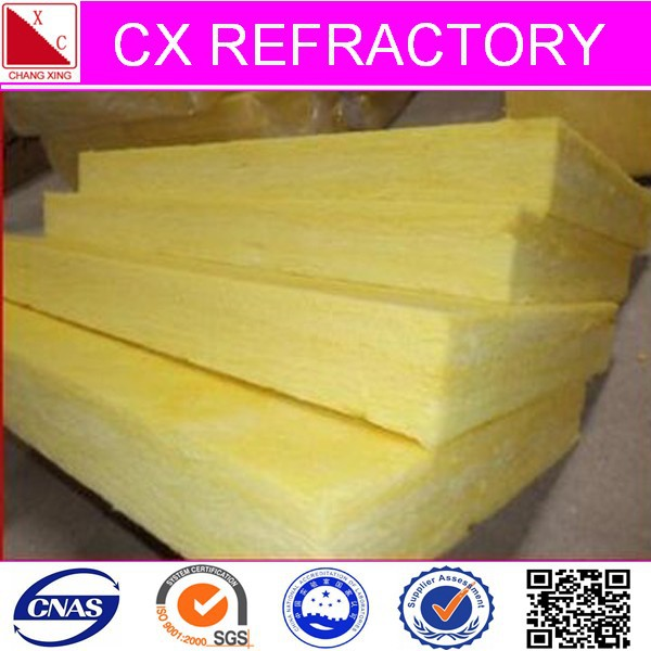 Fireproof insulation glass wool board