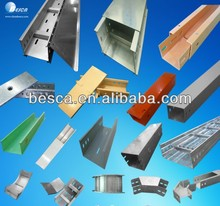 CE UL Besca Domestic Pre-Galvanized Cable Trunking Suppliers