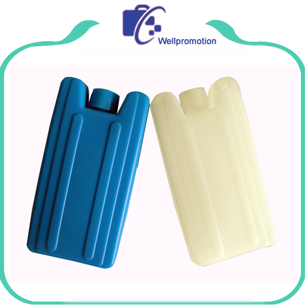 Small freezer HDPE plastic ice box gel ice box for food storage