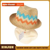 CUSTOM LOGO PANAMA STRAW HAT
