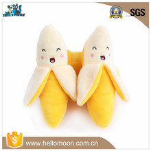 New Design Cute Plush Banana Pet Toys Puppy Chew Play Sound Toys For Dogs