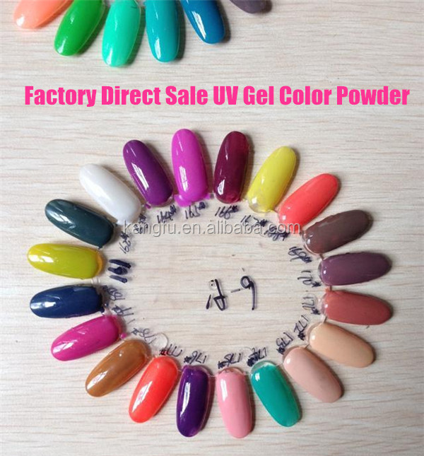 Factory direct sale uv gel color powder