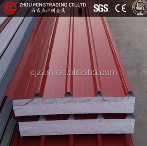 any size roof sheet sandwich panel prefab house eps foam