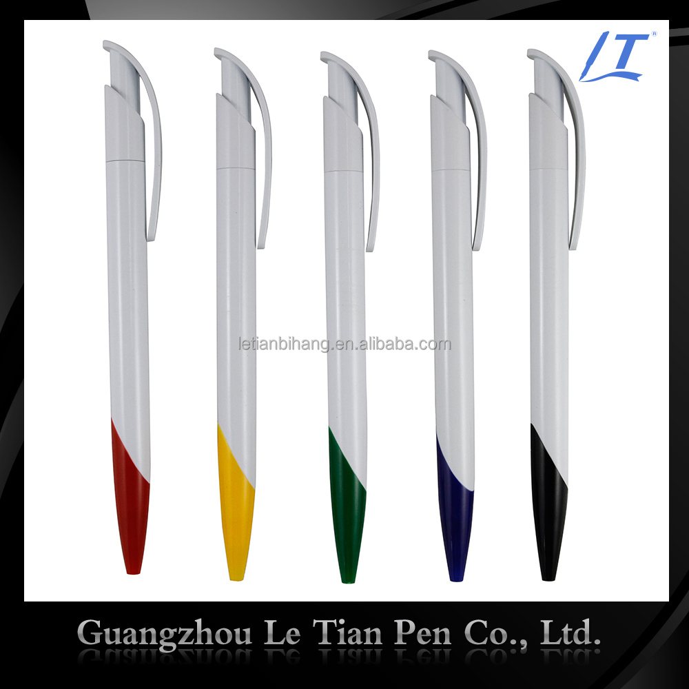 Promotional cheap plastic ball-point pen refill with company logo
