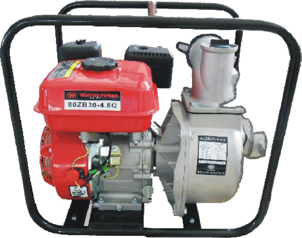 manual start gasoline water pump with 3 inches' diamiter.hot sale,get it now~