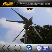 New design 600w wind generator parts for marine ship or home use