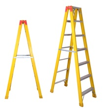 Cross-step Type 1a Extra Heavy Duty Step 4'-6' Fiberglass Ladder