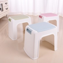 New Products PP Plastic Stool High Quality Anti-Skidding Armless Small Square Stools