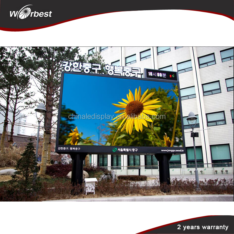 High definition P8 LED Screen Outdoor/outdoor led display module for sale