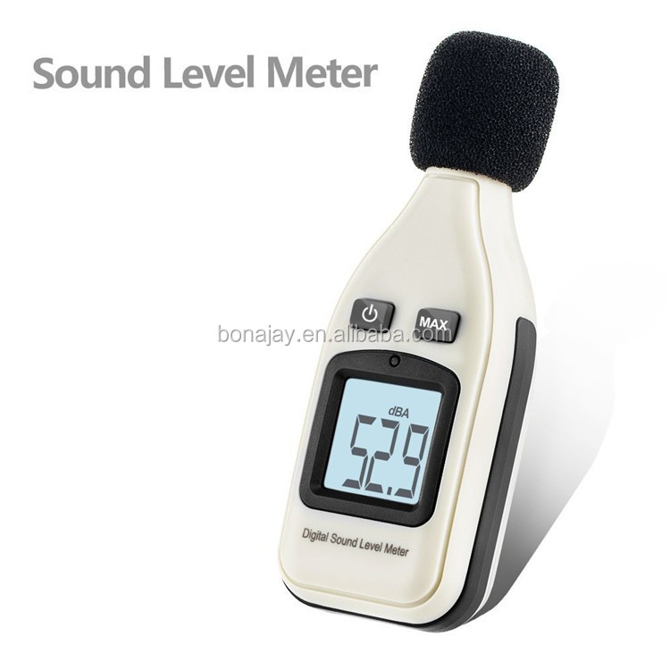 GM1351 LCD Digital Sound Level Meter Noise Meter dB Decible Monitor Tester Measuring 30-130dB