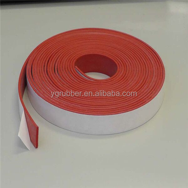 Foam silicone rubber edging for sheet metal