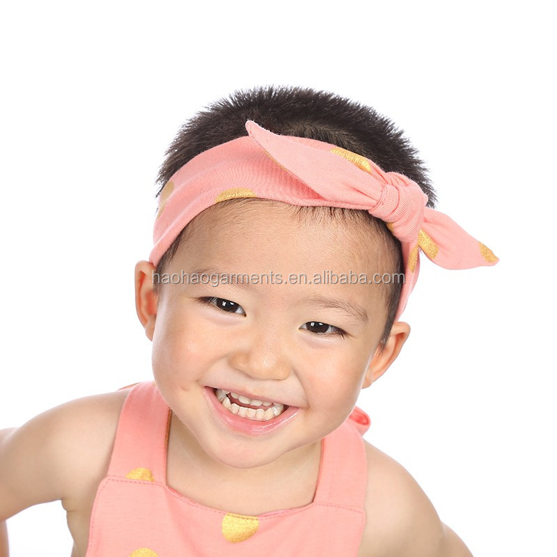 cotton cute rosette baby boy hairbands for daily headbands