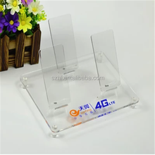Fashionable acrylic cabinet mobile phone display cabinet