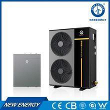 New Energy ben good split model inverter dc inverter air to water heat pump with air to air heat exchanger