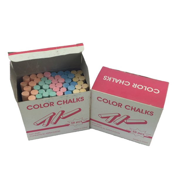 High quality natural colorful chalk for school