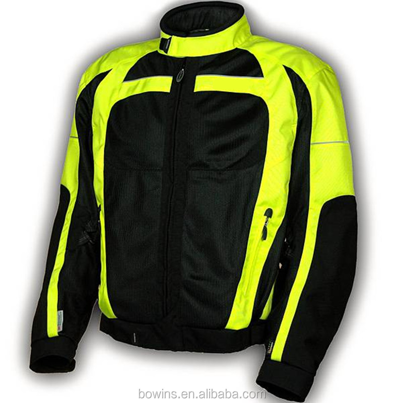 yellow motorcycle jacket racing, fashion motorcross jackets for men