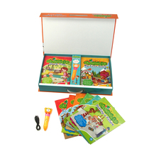 Kids Fun Magic Reading Pen with Growing Up Books Popular in Asian Countries for Second Lauguege Learners
