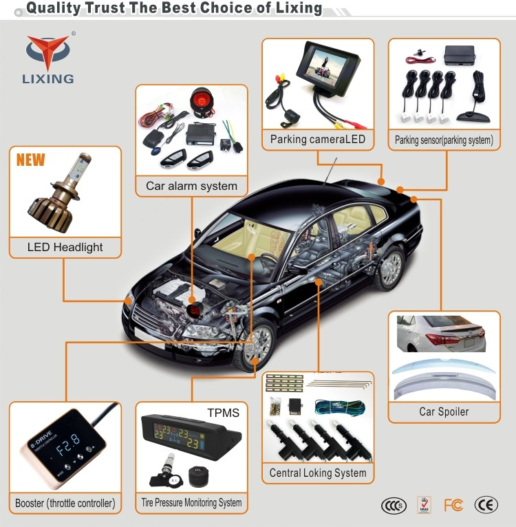Factory direct selling cheapest anti-hijacking universal one way car alarm system universal remote control