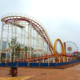 30years old manufacture made 4 loops roller coaster amusement park tower rides for sale