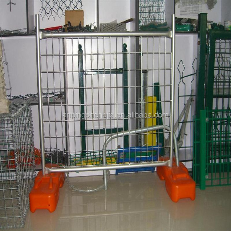 sj Professional Manufacturer of Canada Type Temporary Fence