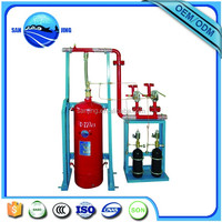Automatic FM 200 Gas Fire Suppression Total Flooding System