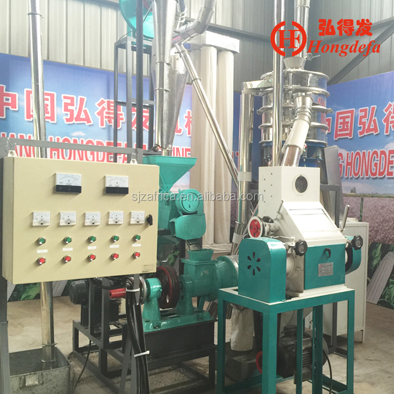 mini maize flour mill machine small scale inductrial processing plant