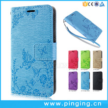 New design fashion embossing leather mobile phone cover for ZOPO C7 , case cover for ZOPO C7