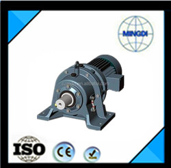 Cycloidal pinwheel reducer with electric motor for atvs