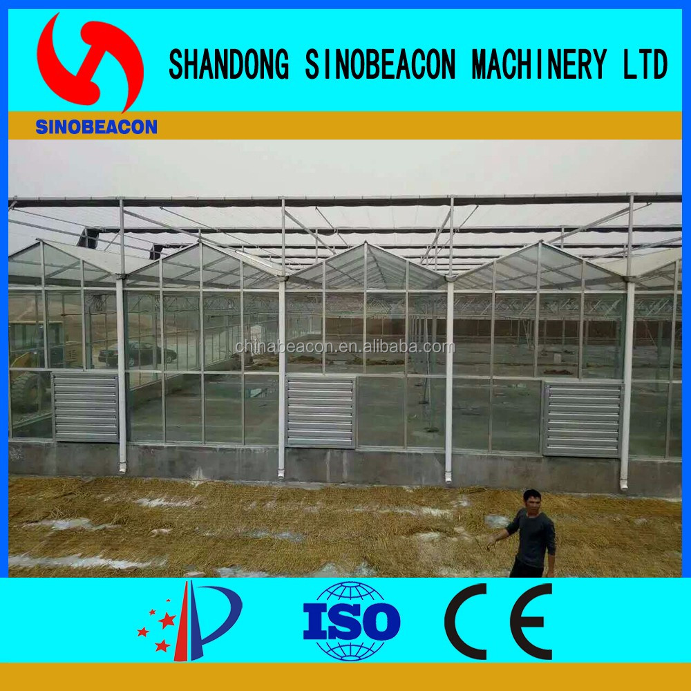 Agricultural Glass Greenhouse Manufacturer