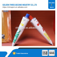 Two parts quick drying silicone sealant,silicone epoxy adhesive for fabric, bonding glue