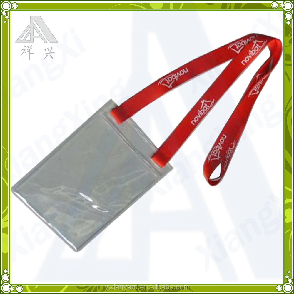 Staff id card holder PVC clear