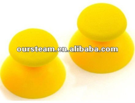 Yellow Thumb sticks Analogue Joystick Grips for PS3 Controller in stock