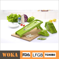 2015 Househeld V Blade Mandoline Plastic Manual Vegetable Cutter